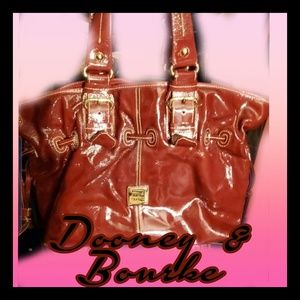 Maroon Patent Leather Dooney & Bourke